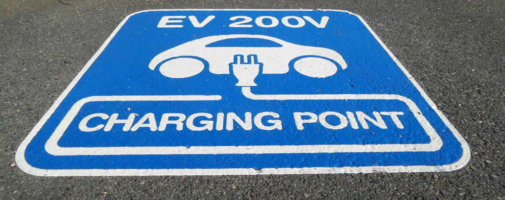 Electric Charging parking bay